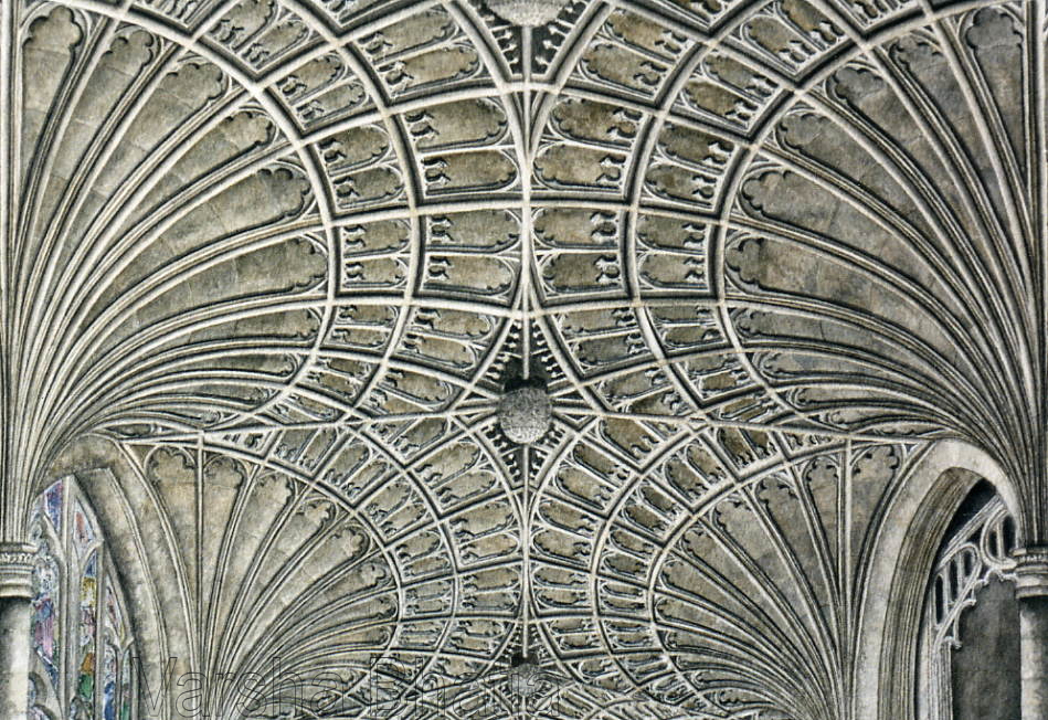 Peterborough Cathedral, Detail of Fan Vaulting