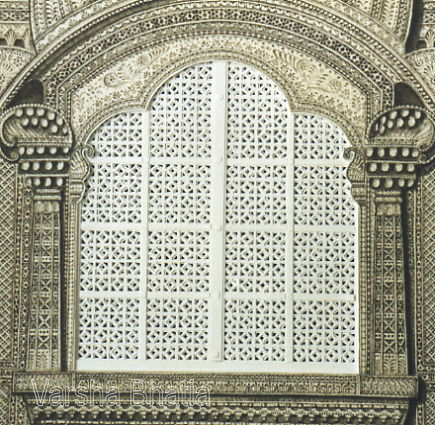 Haveli Window - Detail
